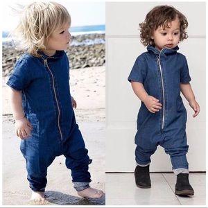 Other - NWT Unisex Jean Jumpsuit
